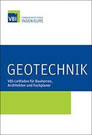 """VBI-Leitfaden """"Geotechnik"""""""