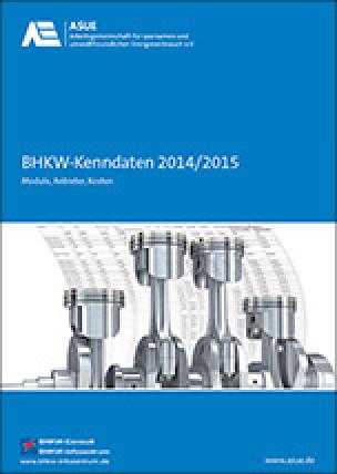 BHKW Kenndaten 2014/2015