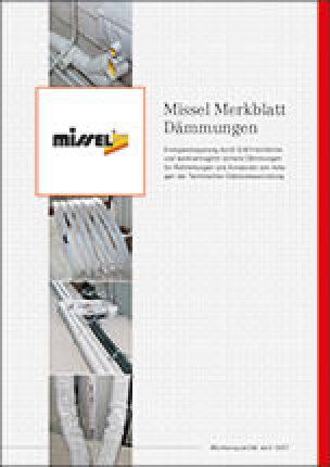 """Missel Merkblatt """"Dämmungen"""""""