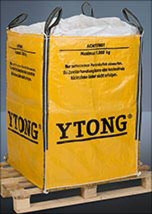 Big Bags für Ytong- und Multipor-Reste