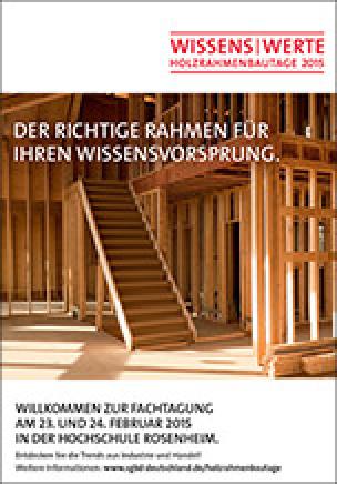 Holzrahmenbautage