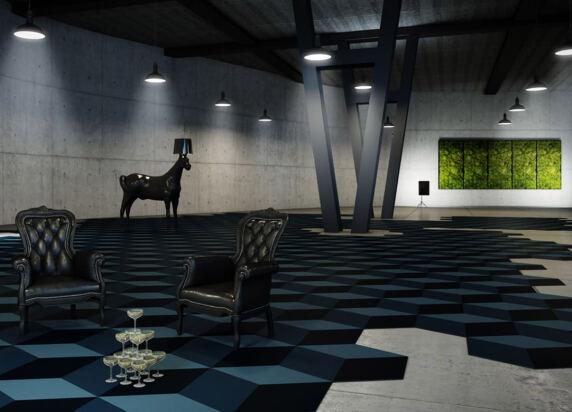 Sebastian Wrong by Fletco von Fletco Carpet Tiles