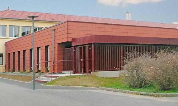 Erweiterungsbauten für einen Kindergarten im französischen Pagny-sur-Moselle