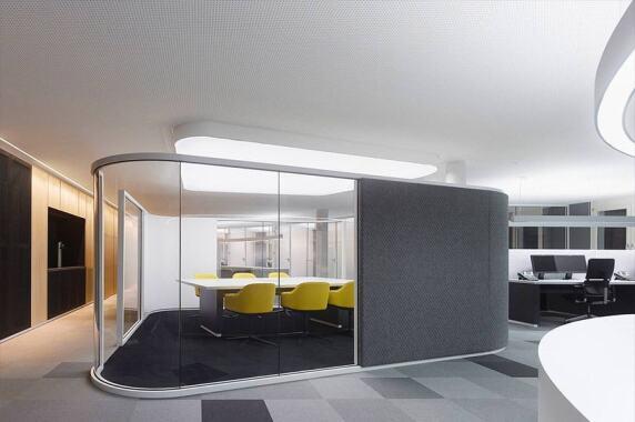 Büro & Verwaltung: Drees & Sommer Headquarters, Stuttgart (Lichtwerke GmbH), Foto: Zooey Braun
