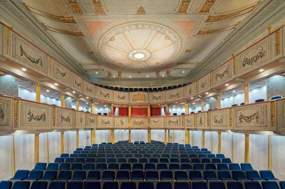 Kulturbauten: Schlosstheater Celle (Fahlke & Dettmer GmbH + Co KG), Foto: Andreas Bormann Freier Architektur-Fotograf