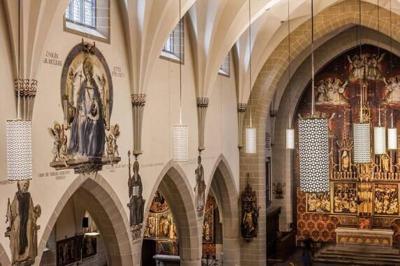 Kulturbauten: Heiliggeistkirche, Basel (hübschergestaltet GmbH unabhängige Lichtgestaltung), Foto: Adriano A. Biondo, Basel