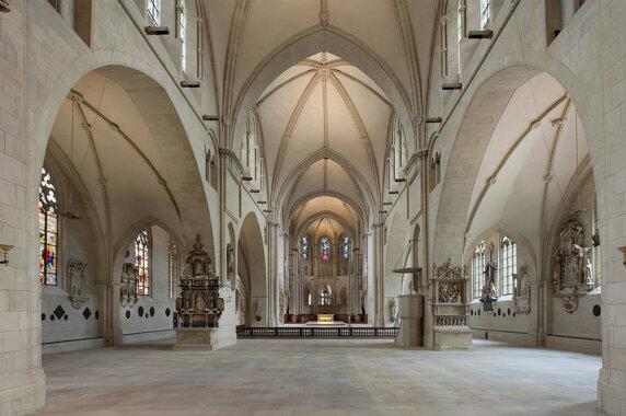 Kulturbauten: St. Paulus Dom, Münster (LighLife Gesellschaft für audiovisuelle Erlebnisse mbH), Foto: Andreas Lechtape