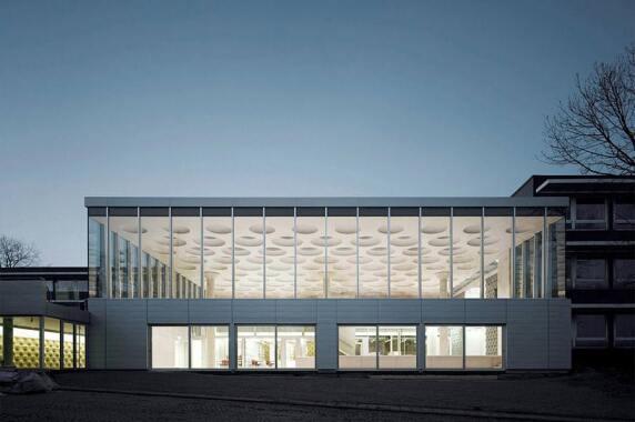 Bildung: Forum Eckenberg Gymnasium, Adelsheim (LDE Belzner Holmes), Foto: Brigida Gonzales
