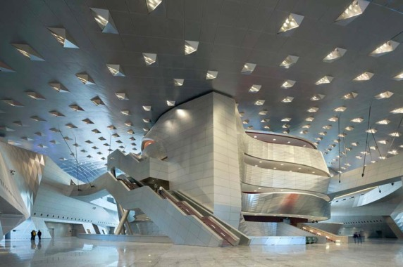 Internationales Projekt: Dalian International Conference Center, VR China (agLicht GbR), Foto: Duccio Malagamba