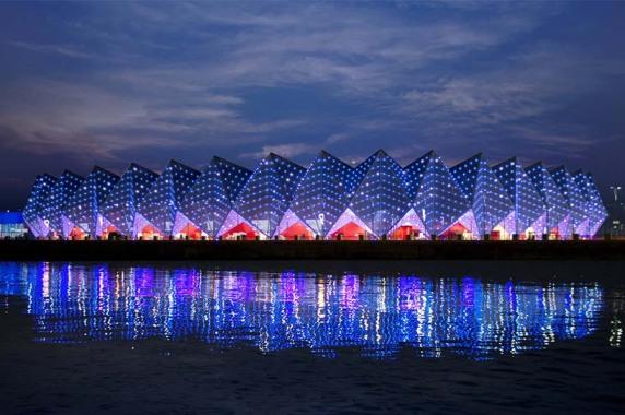 Internationales Projekt: Baku Crystal Hall, Baku Aserbaidschan (Lichtvision Design & Engineering GmbH), Foto: Florian Licht