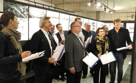 Jury zum Förderpreis des Deutschen Stahlbaues 2014
