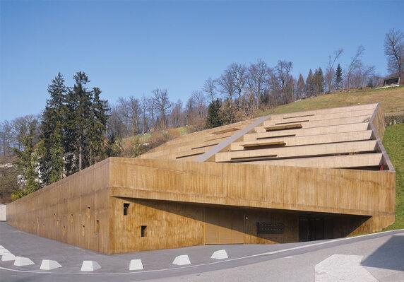 "Ken Architekten, Projekt: ""Bruggerberg"" (© Hannes Henz, Zürich)"