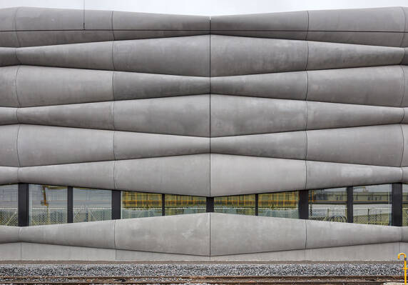 EM2N Architekten, Projekt: Erweiterung Serviceanlage Herdern