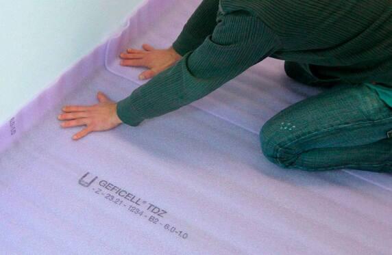 6 mm dicke trittschall d mmung mit brief und siegel. Black Bedroom Furniture Sets. Home Design Ideas
