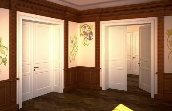 stilvolle t30 brandschutzt r wien klassik aus holz neu von rubner feuerschutzt r aus holz. Black Bedroom Furniture Sets. Home Design Ideas