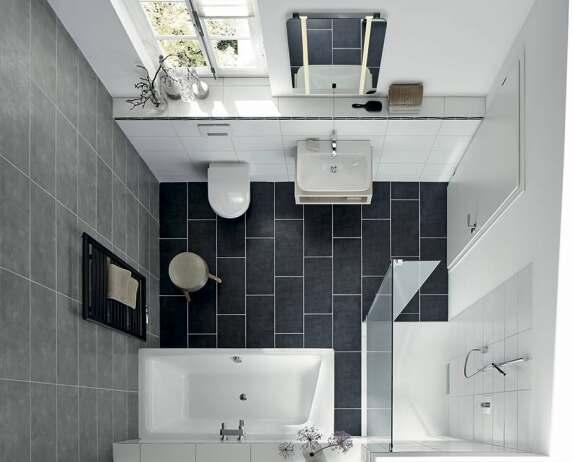bodengleiche duschpl tze und badewannen f r kleine badezimmer. Black Bedroom Furniture Sets. Home Design Ideas