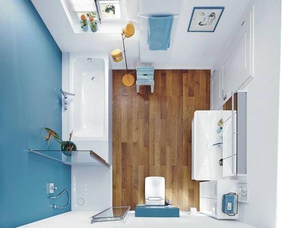 Bodengleiche duschpl tze und badewannen f r kleine badezimmer for Badezimmer 7 qm