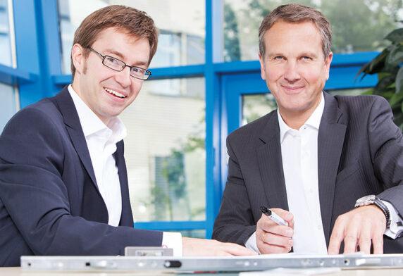 Andreas Fuhr und Dr. Florian Hesse