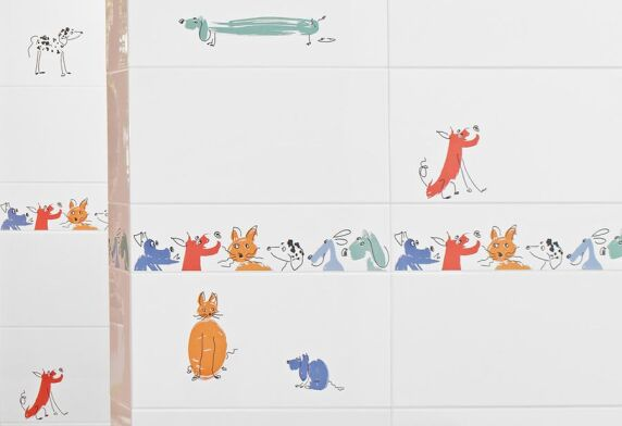 Villeroy & Boch KIDS: Kunterbunter Cartoon-Spaß - hier mit Cats & Dogs