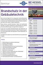 """Fachseminar-Reihe mit Doyma und Kessel: """"Brandschutz in der Gebäudetechnik"""""""