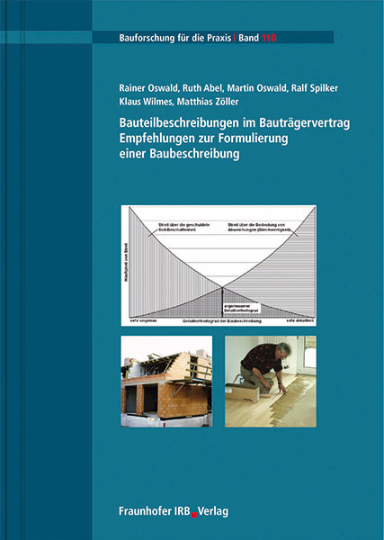 bauteilbeschreibungen im bautrgervertrag empfehlungen zur formulierung einer baubeschreibung - Baubeschreibung Muster Kostenlos