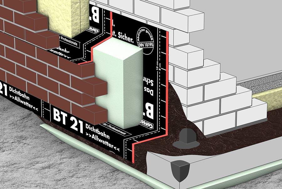 ceresit brosch re zur bt 21 dichtbahn als z und l sperre an mauerwerks fu punkten. Black Bedroom Furniture Sets. Home Design Ideas