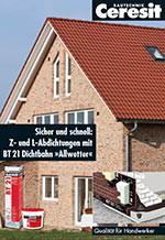 """Broschüre """"Sicher und schnell: Z- und L-Abdichtungen mit BT 21 Dichtbahn Allwetter"""""""
