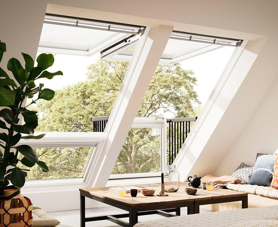 Neues cabrio dachfenster von velux mehr licht mehr sicht - Dachfenster panorama ...