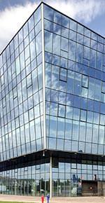"""Sonnenschutzglas """"Stopray Ultra-50 on Clearvision"""" von AGC Interpane"""