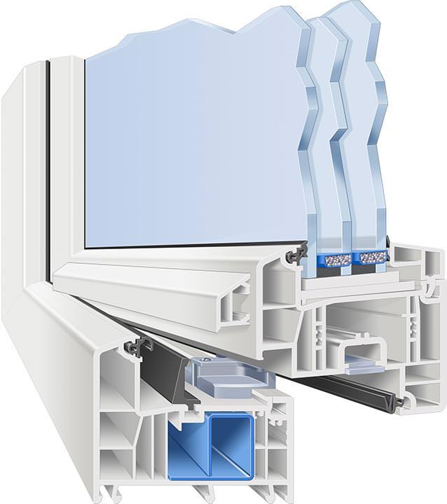 Weru bietet afino fenster in differenzierten ausstattungs for Fensterelemente kunststoff