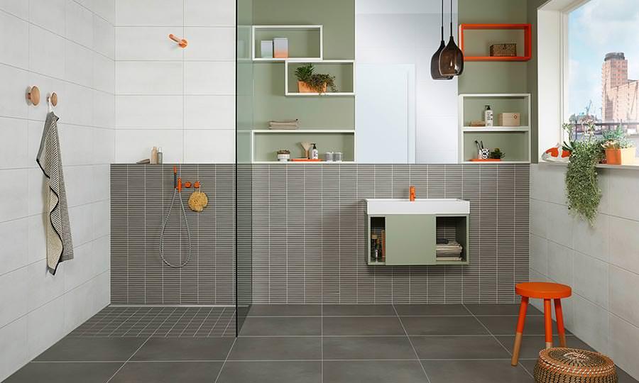 wandfliesen aus steingut imago neu von agrob buchtal. Black Bedroom Furniture Sets. Home Design Ideas