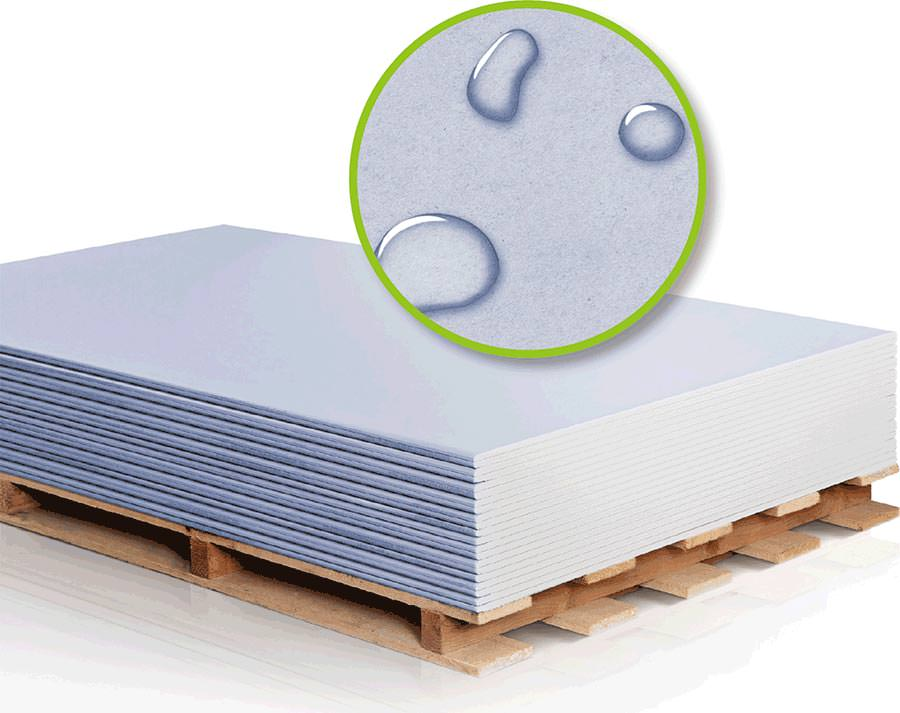schallschutzplatte die blaue von rigips nun auch in einer impr gnierten version. Black Bedroom Furniture Sets. Home Design Ideas