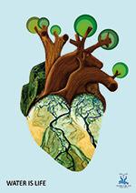 """""""Wasser- Das Blut im Organismus allen Lebens"""" von Jeniffer C. Borja"""