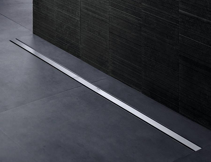 duschrinne cleanline neu im sortiment von geberit. Black Bedroom Furniture Sets. Home Design Ideas
