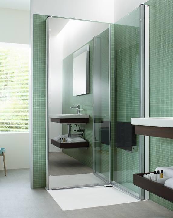 eoos und duravit haben openspace die duschkabine zum. Black Bedroom Furniture Sets. Home Design Ideas
