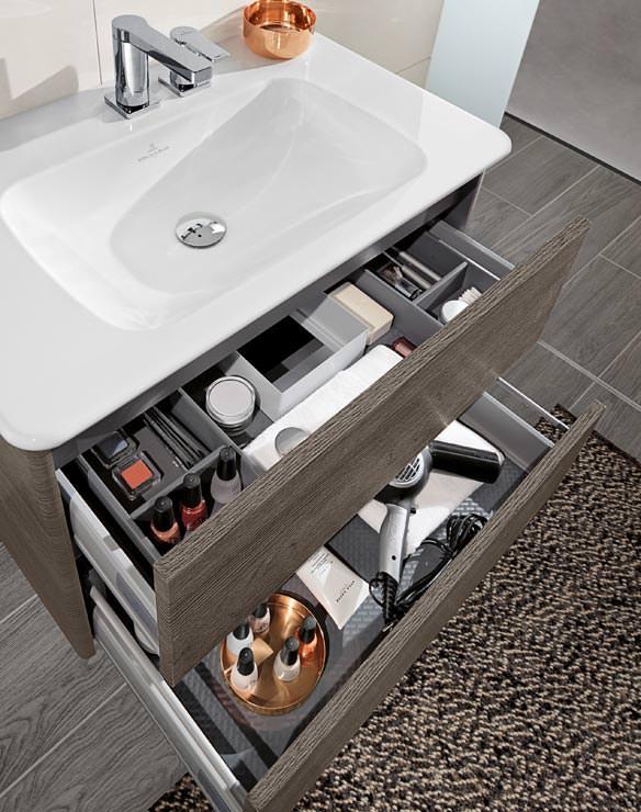 Vivia: Villeroy & Bochs neue Badkollektion stellt die Dusche in ... | {Doppelwaschtisch villeroy & boch 56}