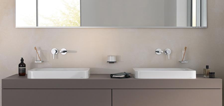 keuco unterputzk rper f r unterschiedliche griffpositionen. Black Bedroom Furniture Sets. Home Design Ideas