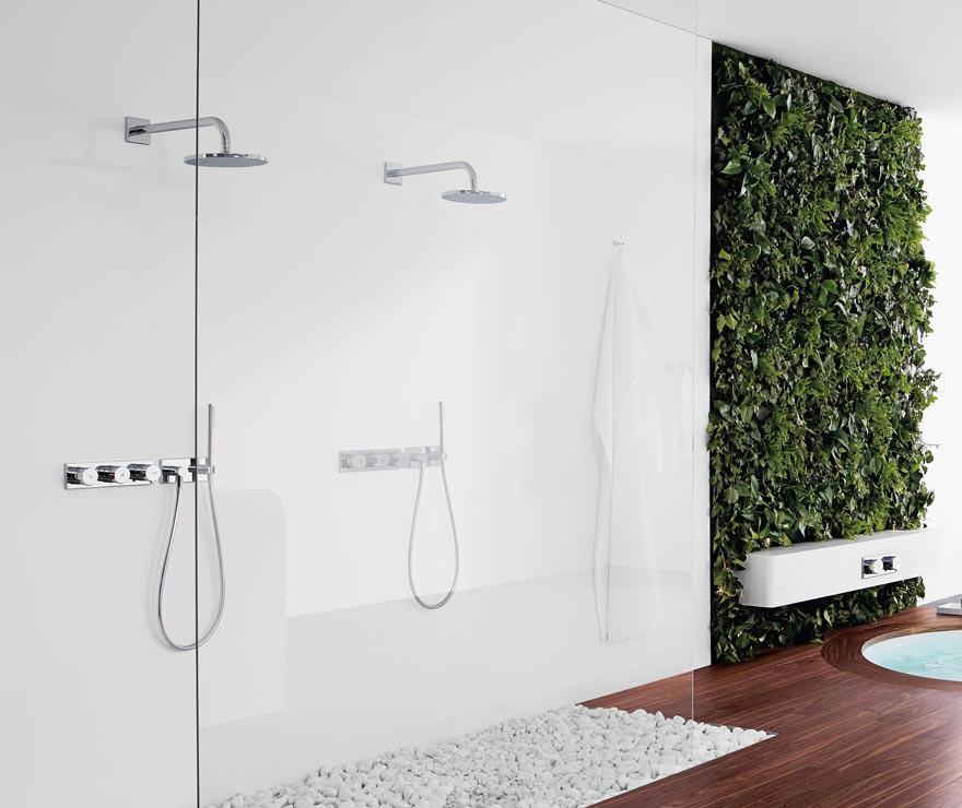 dass die wandarmatur auer klassisch vertikal auch horizontal angebracht werden kann sorgt fr hohe gestaltungsfreiheit mit nur einem produkt - Dusche Unterputz Armatur Hohe