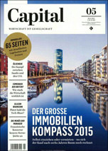 großer Immobilien-Kompass im Capital Heft 5/2015