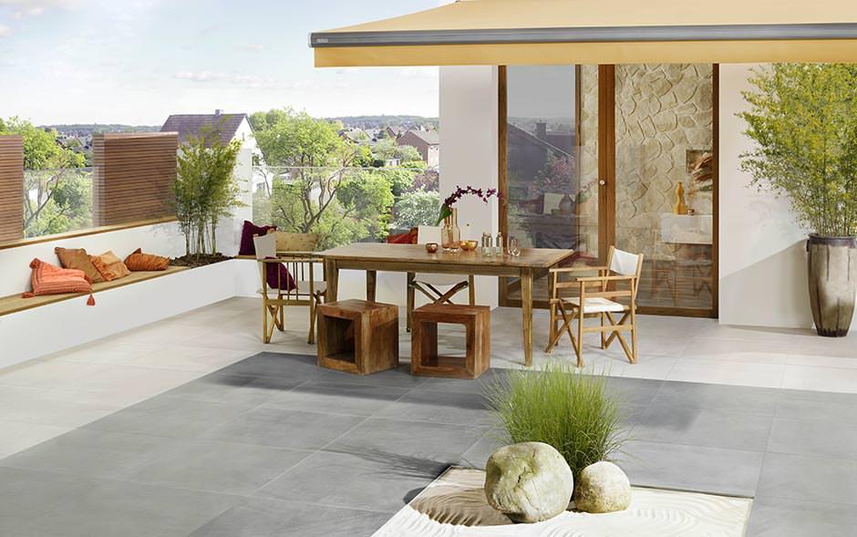 sgbdd erweitert produktsortiment um feinsteinzeugfliesen f r den au enbereich. Black Bedroom Furniture Sets. Home Design Ideas