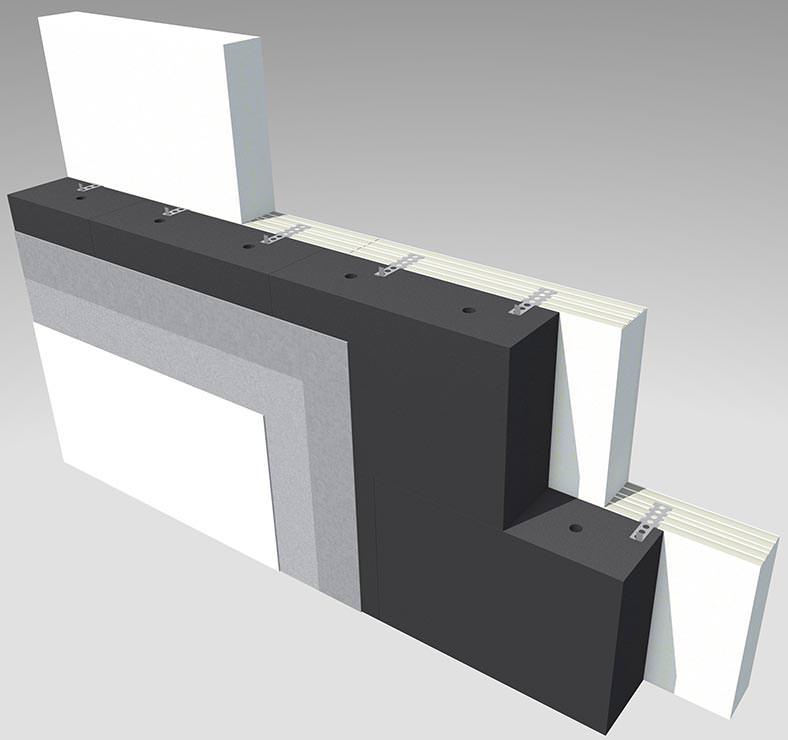 piano ein neuer wdvs wandaufbau mit kalksandstein und foamglas im gleichtakt nicht brennbares. Black Bedroom Furniture Sets. Home Design Ideas