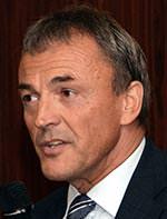 Rudolf Dombrink, Geschäftsführer der Rodgauer Baustoffwerke GmbH & Co KG