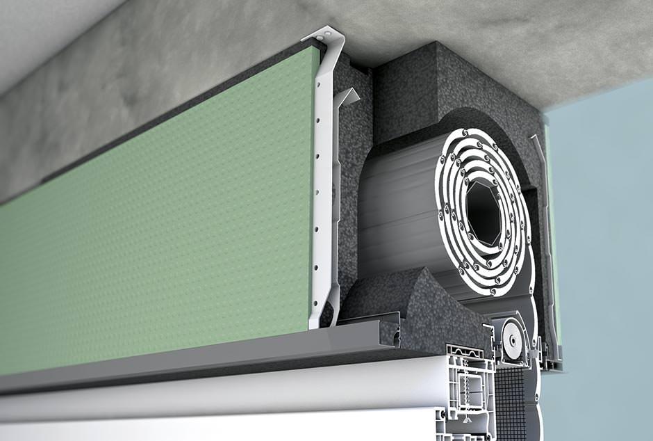 horizontallasten auf das fenster ber den rollladenkasten. Black Bedroom Furniture Sets. Home Design Ideas