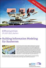 BIMconvention 2015-Programm