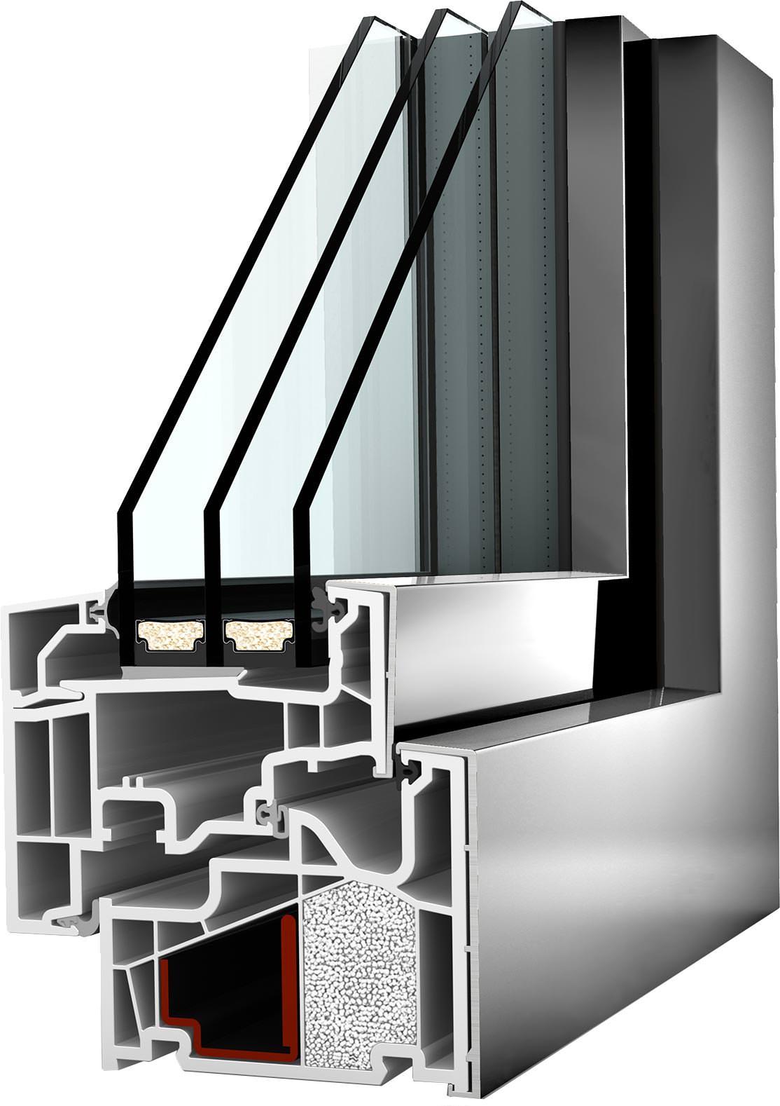 Granulat statt schaum internorm optimiert d mmung bei for Fenster internorm