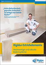 Rigidur Estrichelemente – Hochwertige und robuste Bodensysteme