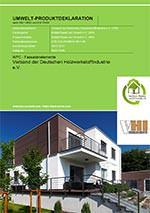 EPD für WPC-Fassadenelemente