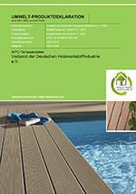 EPD für WPC-Terrassendielen