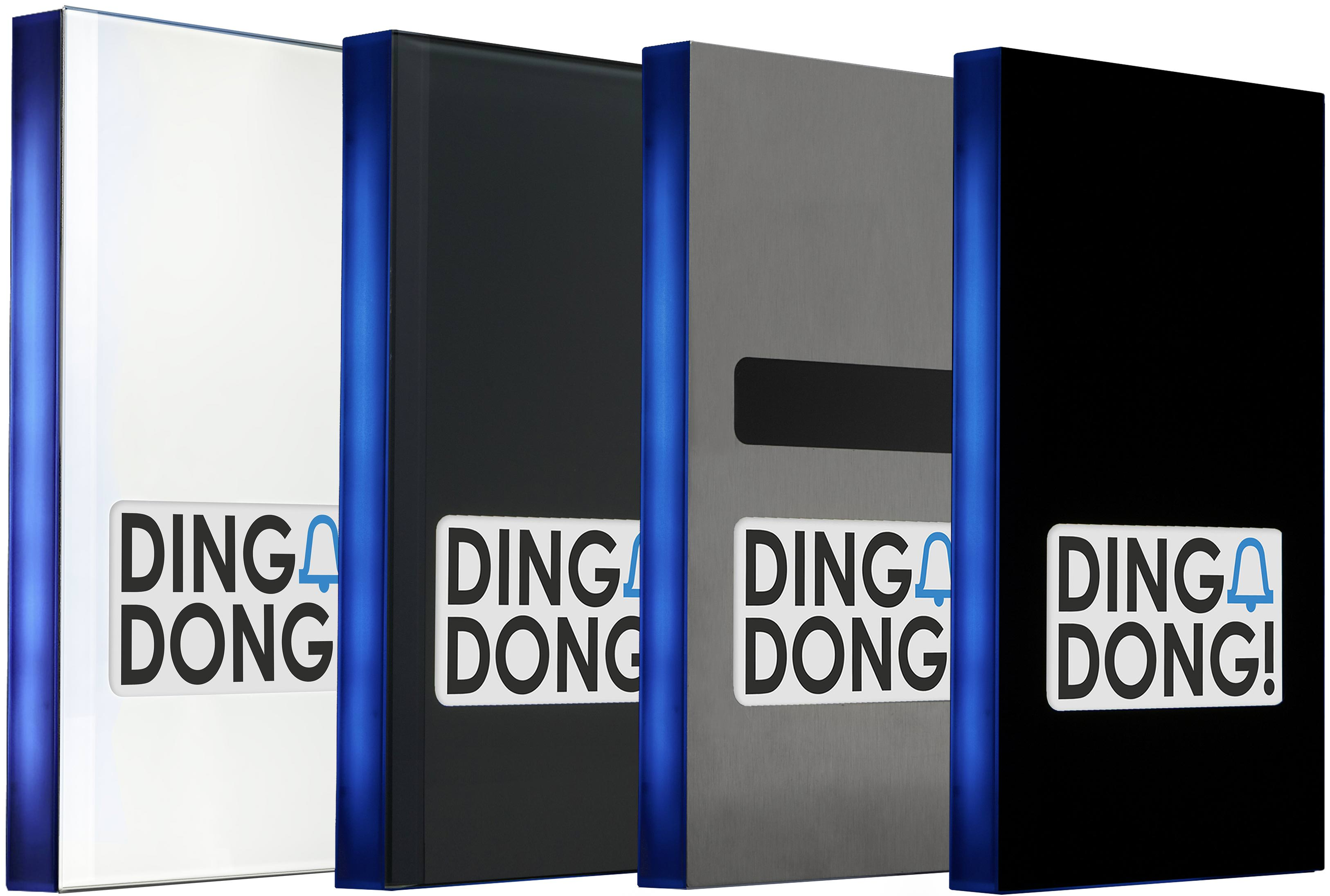 doorline smart home t rsprechanlage mit touchscreen statt klingelknopf. Black Bedroom Furniture Sets. Home Design Ideas
