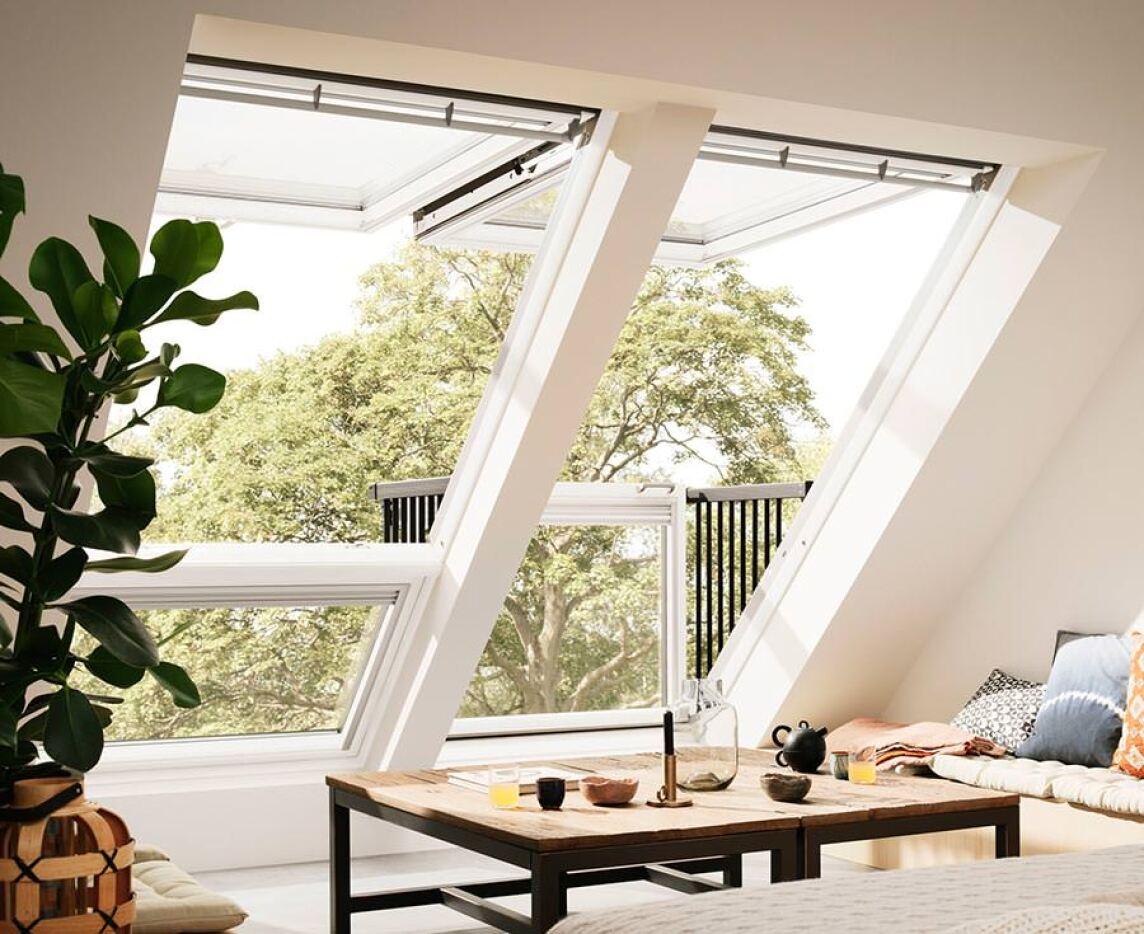 neues cabrio dachfenster von velux: mehr licht, mehr sicht, mehr luft